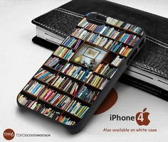 Bookself Credit for iPhone 4/4S, iPhone 5/5S, iPhone 6, iPod 4, iPod 5, Samsung Galaxy Note 3, Galaxy Note 4, Galaxy S3, Galaxy S4, Galaxy S5, Galaxy S6, Phone Case