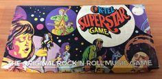 Vintage 1973 Board Game - K-Tel SuperStar Game - 100% complete #KTelInternational
