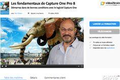 voir le tutoriel video Capture one Pro