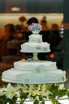 tarta de boda glamour