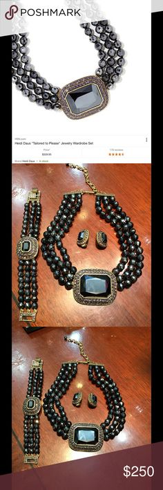 Haidi Daus Gorgeous sets heidi daus Jewelry Necklaces