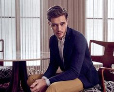 Francisco Lachowski Models Liu Jo Spring Summer 2017 Collection