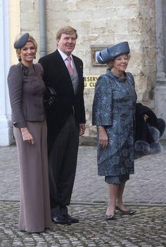 Princess Maxima Photo - Royal Wedding of Prince Carlos de Bourbon de Parme and Princess Annemarie de Bourbon de Parme-Gualtherie van Weezel in Abbaye de la Cambre, Elsene