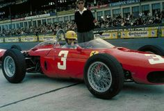 "frenchcurious: ""Ricardo Rodriguez (Ferrari 156) Grand Prix d'Allemagne - Nürburgring 1962 - UK Racing History. """