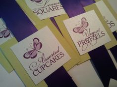 Candy Buffet Tags Set of 12 by theinspirednote on Etsy, $18.00