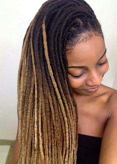 Everything about these locs are laid and smooth