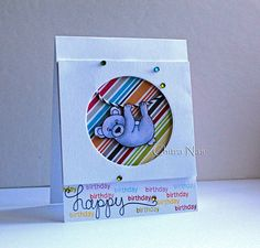 NND August 2014 Release: Simply Sentimental | card by guest designer Chitra Nair