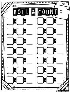 Roll & Add Interactive Worksheets