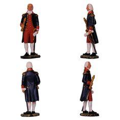 """Almirante Duperré (Colección """"Mariscales del Imperio"""" de Hachette) Empezó como grumete y terminó almirante. Buen ejemplo de promoción social ..."""