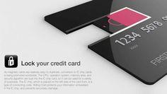 Hidden Card – Secured Credit Card Re-design by Design Team Korea Armed Forces Printing Publishing Depot - Korea Design Membership » Yanko Design