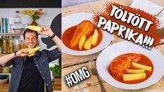 Zé-féle TÖLTÖTT PAPRIKA - ahogy azt kell! 😎 Tacos, Mexican, Chicken, Ethnic Recipes, Food, Youtube, Meal, Eten, Meals