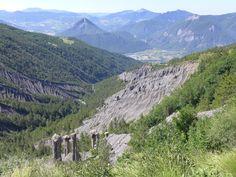 Hautes Alpes - Demoiselles coiffées, Queyras ! Voyage en camping-car !