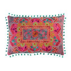 Cojín multicolor de algodón 30×50cm COPIACO