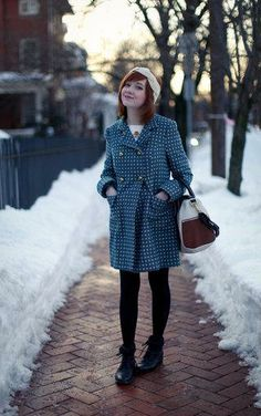 Statement coat style #layers #stylegallery