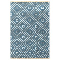 Dash & Albert Mali Indigo Indoor/Outdoor Rug