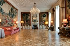 Bespoke European Oak Versailles Panels