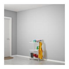 MULIG Hylla IKEA Kan även användas i badrum och andra våtutrymmen inomhus. Hyllplanen är slitstarka, fläcktåliga och enkla att rengöra.
