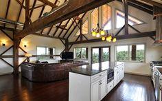 Hall Barn| Open Kitchen