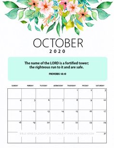 Feel inspired and motivated all through the year with our free 2020 desk calendar printable with Bible verses. This monthly calendar will help you feel at bliss and empowered. Calendar Quotes, Photo Calendar, Free Printable Calendar, Free Printables, September Calendar, Calendar 2020, January, Bible Quotes, Bible Verses