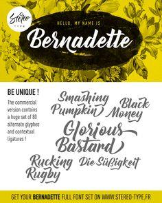 Bernadette | dafont.com