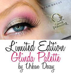 This palette was released in spring 2013 by Urban Decay to celebrate the release of the popular movie Oz the Great and Powerful starring Michelle Williams