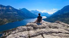 Small, but mighty, Waterton Lakes is the smallest national park in the Rockies, but that just means more awesome per square kilometre. Only here: This is the only spot you'll find a UNESCO World Heritage site,
