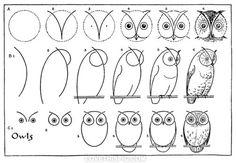 Diy Owl Drawing girl pretty diy owl diy projects diy craft diy drawing