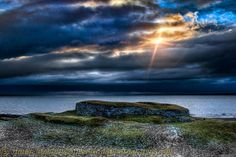 Carn Liath broch between Golspie and Brora - Highlands of Scotland Photography
