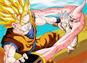 Dragon Ball Z Goku vs Buu Puzzle