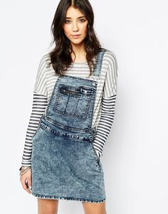 Bild 1 von Noisy May – Jeans-Trägerkleid