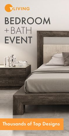 Bedroom + Bath Event. Save up to 20% on Thousands of Top Designs through June 13, 2016. Free Shipping. http://www.yliving.com/modern-bedroom.html