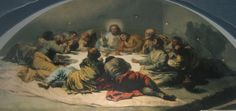 La Santa Cena (c.1796) pintada por Goya