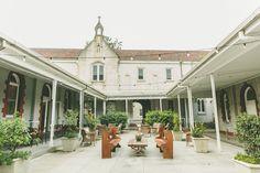 Abbotsford Convent - courtyard