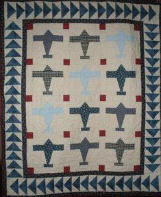 Airplane Quilt Pattern | Craftsy