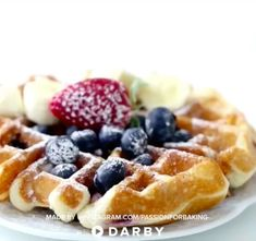 How to Make a Delicious Fluffy Waffle for Breakfast - waffles - What's For Breakfast, Breakfast Recipes, Dessert Recipes, Fluffy Waffles, Tasty Videos, Waffle Recipes, Junk Food, Sweet Recipes, Food And Drink