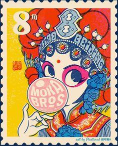 Pop Peking Opera on Behance