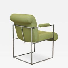 Open Arm Chair by Milo Baughman for Thayer Coggin by Milo  Baughman