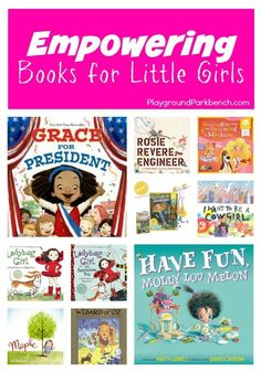 Are you tired of reading the same princess books and fairy tales to your little girls? Expand their library and imagination with these empowering books