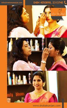 Shoba Kunjan - Best Bridal MakeUp Artist In Kerala.  Book Now - 0484-4050898 | 0484 2313740 | 0484 2321119 Visit : www.shobakunjan.com