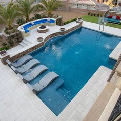 If you are working with the best backyard pool landscaping ideas there are lot of choices. You need to look into your budget for backyard landscaping ideas Backyard Pool Landscaping, Backyard Patio Designs, Landscaping Ideas, Backyard Ideas Pool, Backyard Design With Pool, Acreage Landscaping, Small Pool Design, Landscaping Edging, Privacy Landscaping