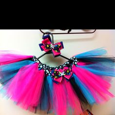 Monster High theme tutu - check out cutie tooties on facebook! 3 years and up starting at $20