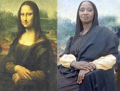 African Mona Lisa Mona Lisa, African, Eyes, Artwork, People, Draw, Work Of Art, Auguste Rodin Artwork, Artworks