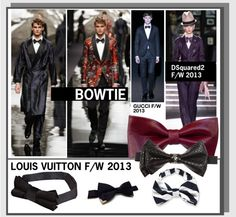 """""""BOWTIES"""" by leatherlena ❤ liked on Polyvore"""