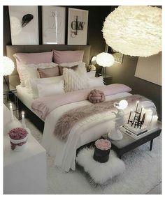 Cute Bedroom Ideas, Room Ideas Bedroom, Home Decor Bedroom, Bedroom Inspiration, Bed Room, Budget Bedroom, Bedroom Themes, Adult Bedroom Ideas, Bedroom Colors