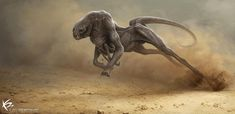 Running Creatures [] by Ken Barthelmey, Luxembourg