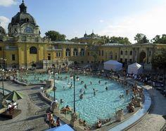 Vietä hyvinvointiloma Budapestissä