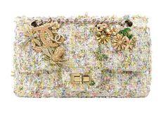 Chanel tweed multi-color sorbet shades WOC