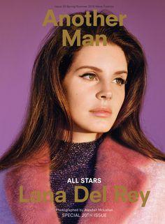 Lana Del Rey Snags Men's Fashion Magazine Cover