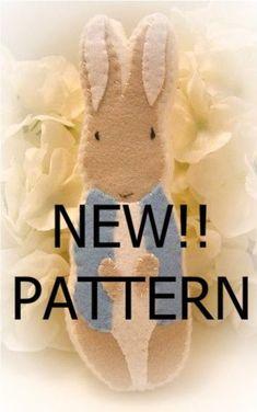 felt ornaments patterns #Stuffed Animals