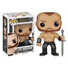 Funko Pop! The Mountain, Montanha, Game of Thrones, GOT, HBO Funkomania, Séries